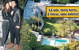 Uğur Akkuş, Ebru Şallı'ya Beverly Hills'ten 15 milyon dolara malikane aldı!
