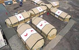 Türkiye Fırat'ın doğusuna sahra hastaneleri kurdu!