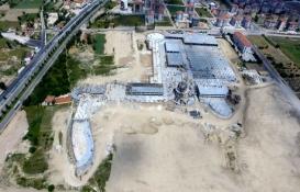 Isparta Şehirlerarası Terminal'in inşaatı tam gaz!