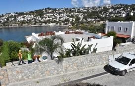 Yılmaz Özdil'in villasının kaçak eklentileri yıkılıyor!