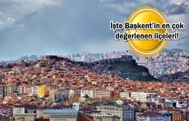 Ankara'nın bu ilçelerinde evi olanlar yaşadı!