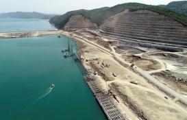 Filyos Liman Projesi inşaatının yüzde 67'si tamam!