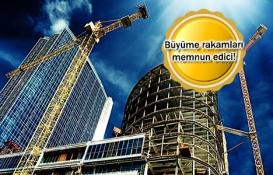inşaat sektörü büyüme rakamları