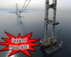 İzmit Körfez Geçiş Köprüsü'nün 275 metresi tamam!