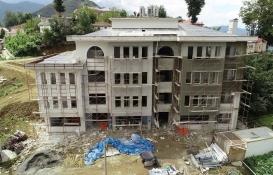 Ordu Kabadüz Kültür Merkezi'nin inşaatı tamamlanıyor!