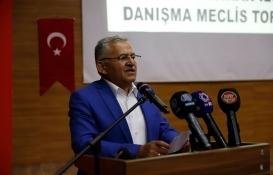 Kayseri Büyükşehir projeleri masaya yatırıldı!