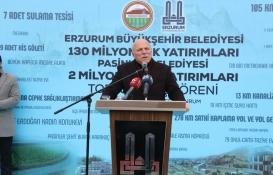 Erzurum'da 132 milyon TL'lik toplu açılış töreni!