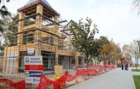 Mudanya Güzelyalı Atatürk Parkı 2'nci etap inşaatı mühürlendi!