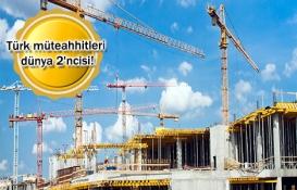 Türkiye uluslararası inşaat pazarında yerini koruyor!