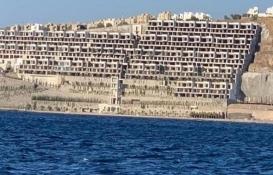 O projedeki 54 villa yıkılıyor!