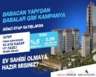 Babacan Premium Tower'da 389 bin TL'ye 2+1!
