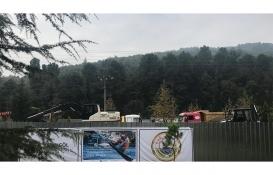Sapanca Kırkpınar'daki teleferik inşaatı durduruldu!