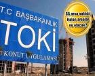 TOKİ'den 228.2 milyon TL'lik arsa satışı!