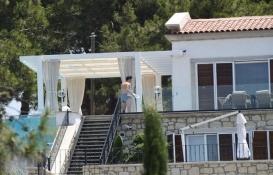Mesut Özil'in Alaçatı'daki süper lüks villası beğeni topluyor!