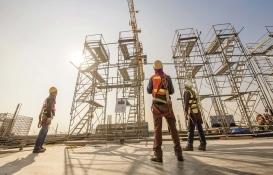 Avrupa'da inşaat üretimi Nisan'da yüzde 11,7 azaldı!