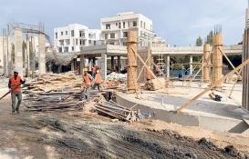 Girne Püsküllü'deki okul inşaatında çökme kalıplar yüzünden olmuş!