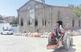 Bergama'nın 150 yıllık tütün deposu restore ediliyor!