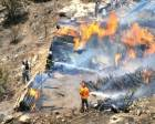 Bodrum'da çıkan yangında 20 hektar alan zarar gördü!