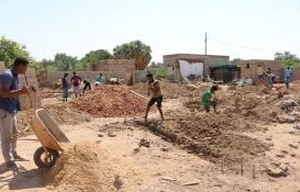 Sudan Ceyli bölgesinde kalıcı konut için ilk temeller atıldı!