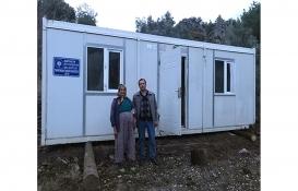Antalya Büyükşehir'den ihtiyaç sahibi ailelere konteyner ev!