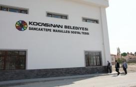 Kocasinan Sancaktepe Sosyal Tesisi açılışa hazır!