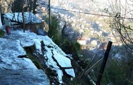 Zonguldak'ta riskli 11 ev tahliye edildi!