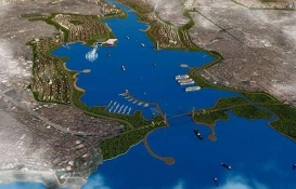 Kanal İstanbul'a finans adası!