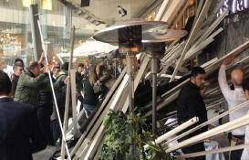 Zorlu Center'den çatısı çöken kafe hakkında açıklama!