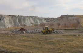 Kapadokya'da yıkım devam ediyor!
