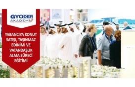 GYODER Akademi Yabancıya Konut Satışı Semineri 10 Nisan'da!