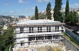 Kocaeli Bağçeşme itfaiye binasının kaba inşaatı tamamlandı!