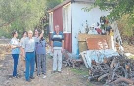 Antalya Güzeloba'da barakalar için imar affı istendi!