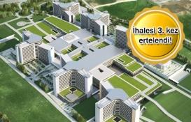 Sancaktepe Şehir Hastanesi 25 Eylül'de ihaleye çıkıyor!