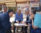Osman Sargın, İznik Kent Meydanı projesini inceledi!