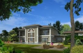 Pelican Hill Batı Mahal'de 7.3 milyon TL'ye icradan satılık villa!