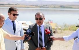 Mogan Gölü çevresindeki kaçak yapılar yıkıldı!