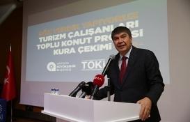 Antalya Turizm Çalışanları Toplu Konut Projesi'nin kuraları çekildi!