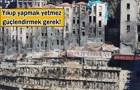 İstanbul'un gündeminde 'kentsel dönüşüm' var!