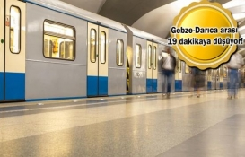 Gebze OSB-Darıca Sahil Metro Hattı'nda son durum!