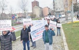 Sultangazi'de 'meydan projesi' protestosu!
