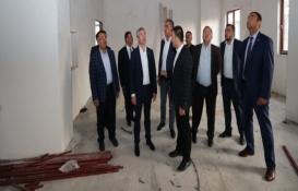 Şahinbey Kıbrıs Sosyal Tesisi'nin inşaatı yükseliyor!