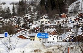 Davos Zirvesi'nde kurulan 'Türk Evi'ne katılımcılardan yoğun ilgi!