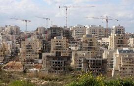 İsrail'den Batı Şeria'ya yasa dışı 3 bin 900 konut!