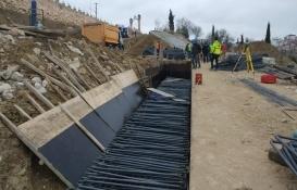 Bilecik'te inşaat demirlerinin altında kalan 2 işçi yaralandı!