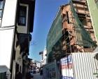 Tarihi Bursa Evleri aslına uygun olarak yenileniyor!