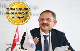 Mehmet Özhaseki: İnşaatlar belediyelerin işi!