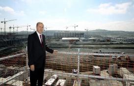 3. havalimanının ilk konuğu Cumhurbaşkanı Erdoğan olacak!