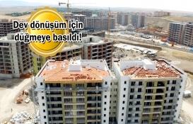 Ankara Sincan Saraycık'ta dönüşüm başlıyor!