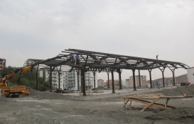 Diyarbakır Kulp Otogarı'nın inşaatı hızlandı!