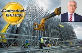 Türk müteahhitleri yurt dışında 370 milyar dolarlık iş yaptı!